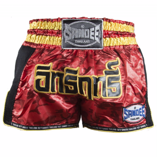 Sandee Supernatural Muay Thai Shorts - Red